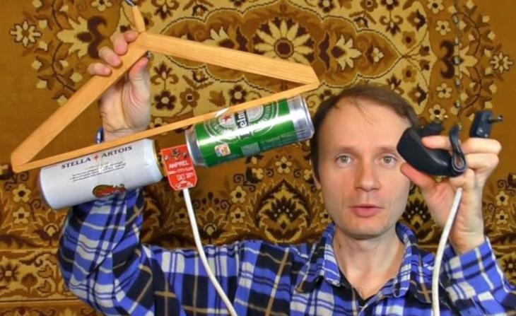 Как сделать антенну из пивных банок для телевизора своими руками